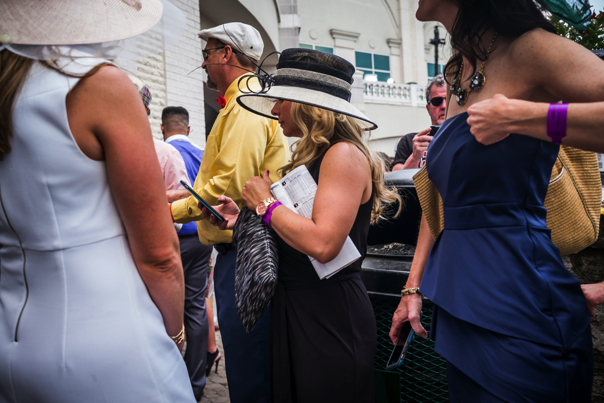 Photo by Chip Kahn. Kentucky Derby, American Shorts