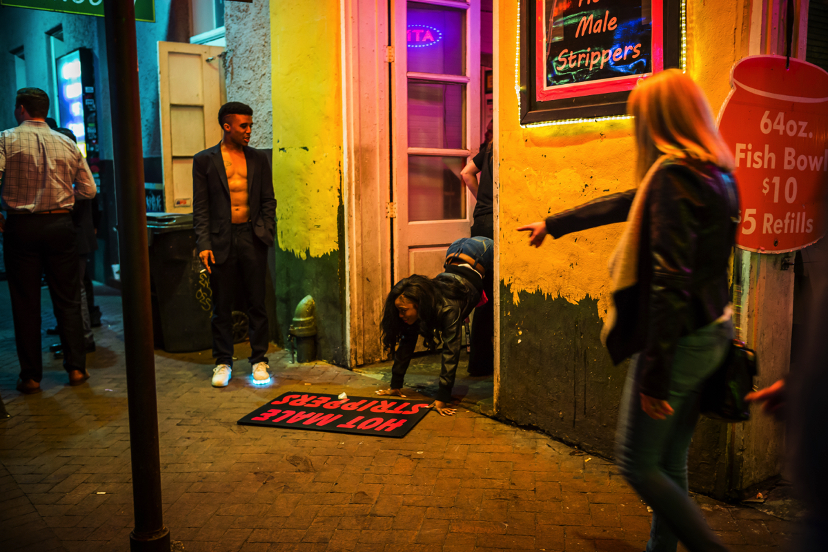 Chip Kahn - New Orleans, Bourbon Street; V