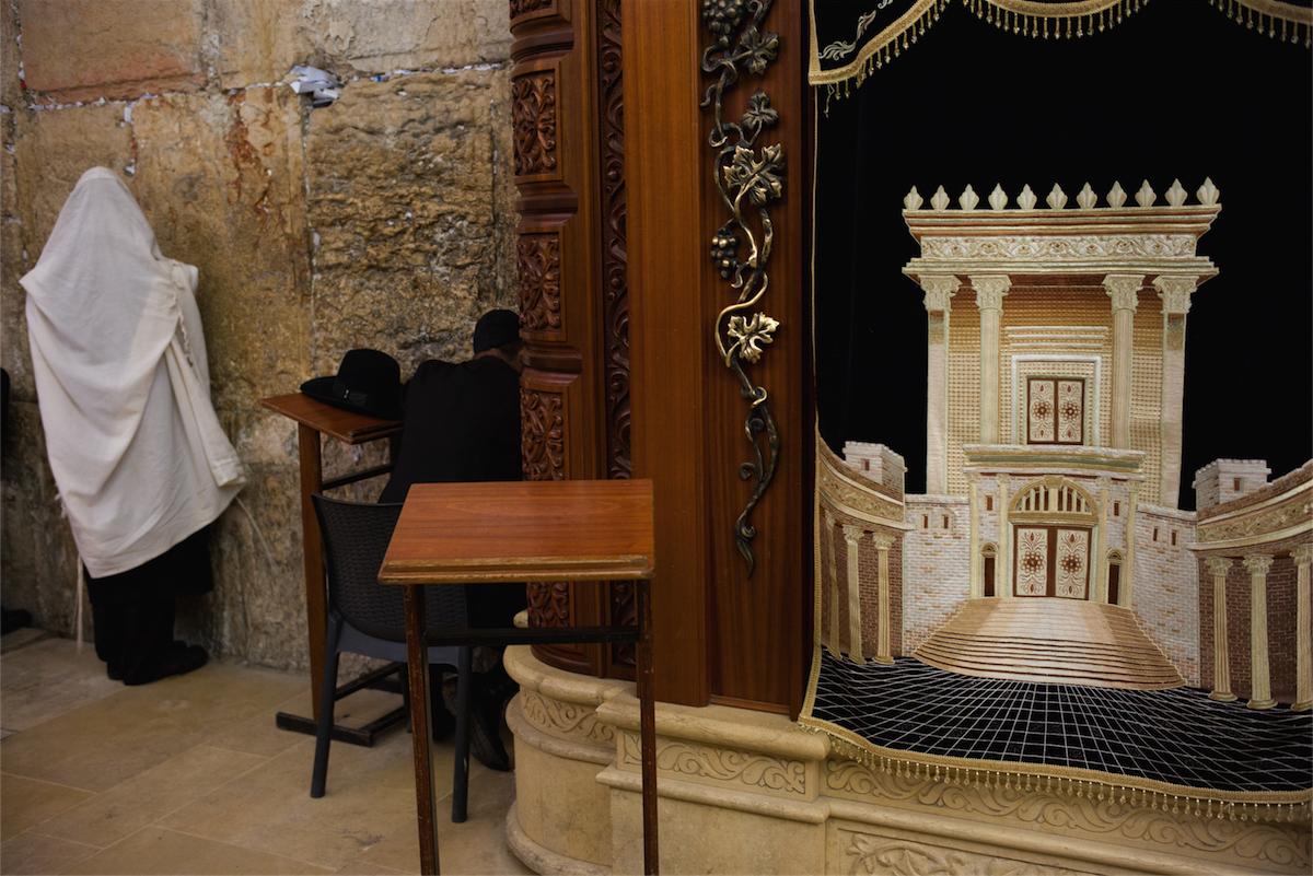 Chip Kahn - Jerusalem, Wailing Wall. Holy Land