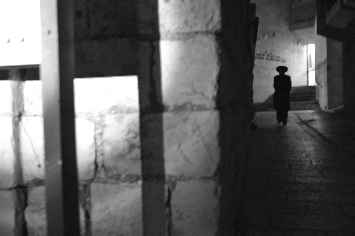 Photo by Chip Kahn. Jerusalem Black & White. Israel Polyglot.