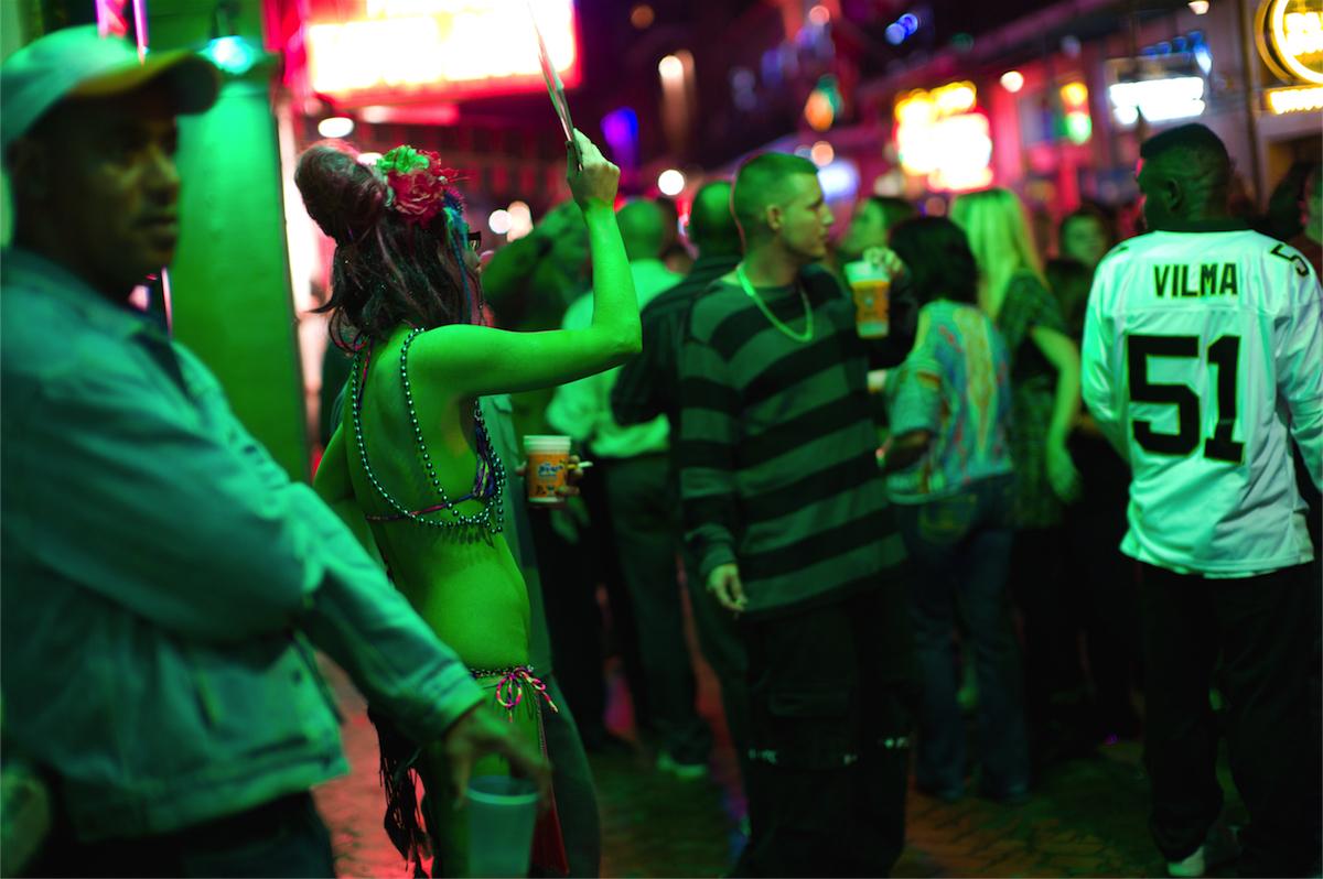 Chip Kahn - New Orleans, Bourbon Street