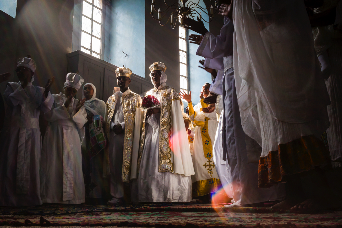Chip Kahn - Jerusalem, Ethiopian Orthodox Wedding