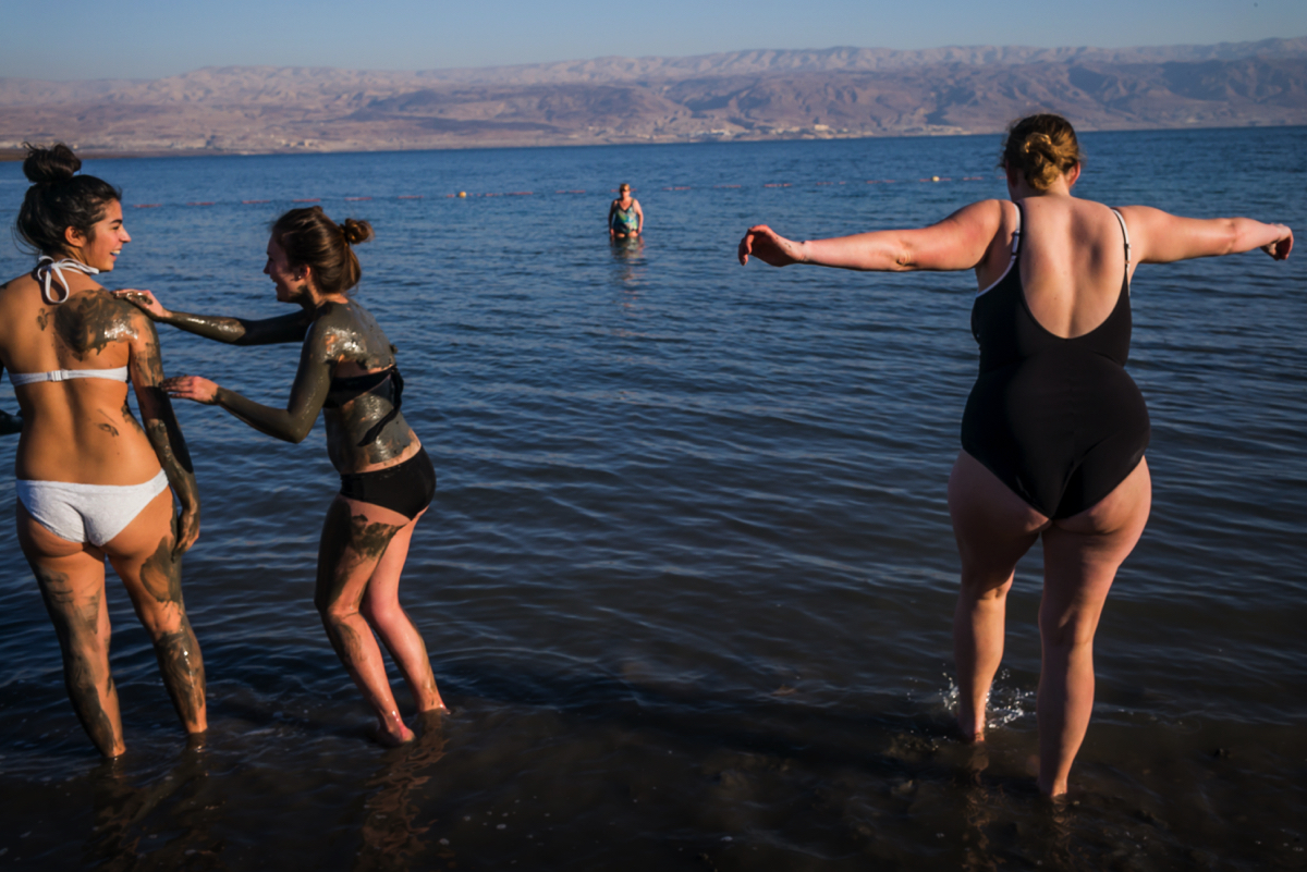 Photo by Chip Kahn. Israel, Judaean Desert and Dead Sea, Israel Polyglot.