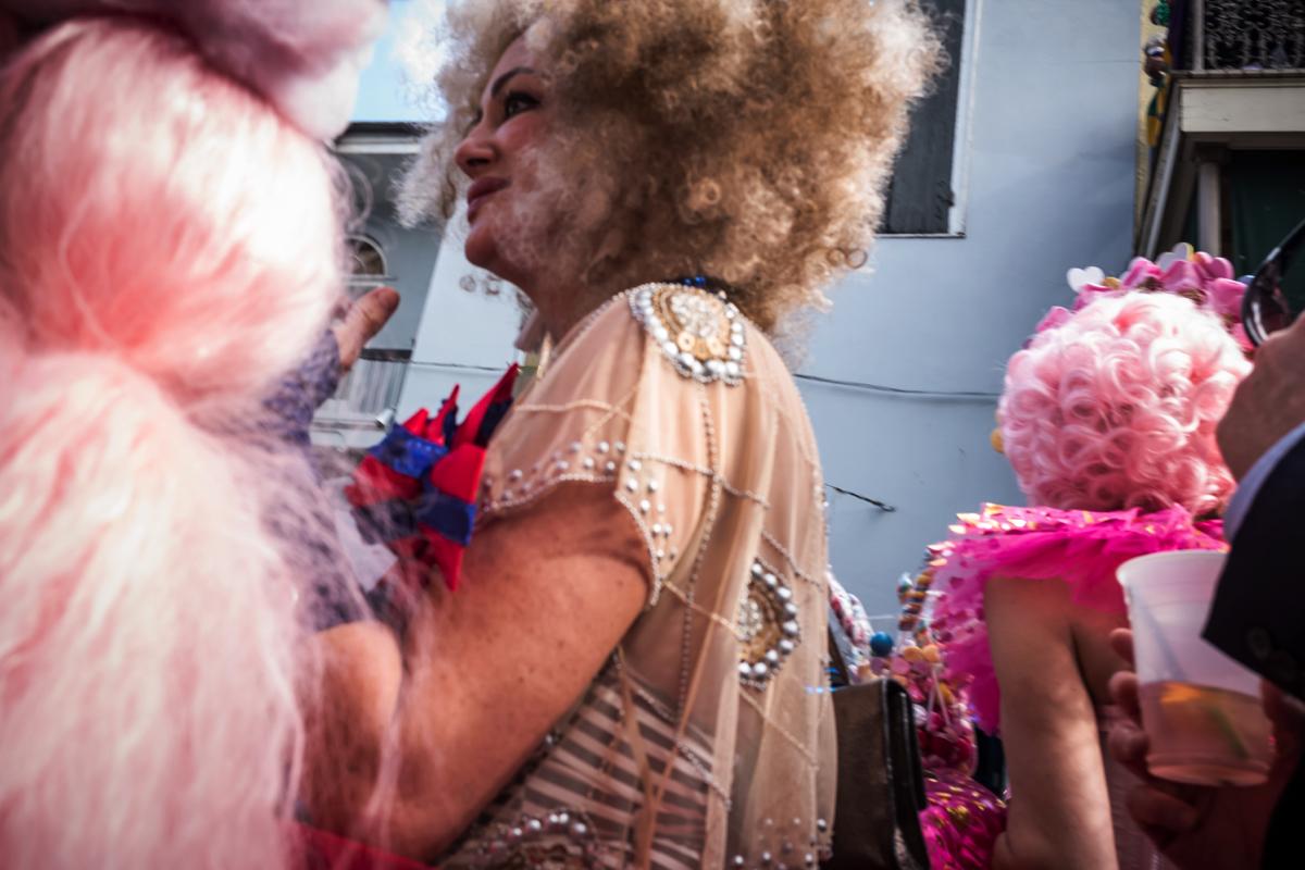 Photo by Chip Kahn. Mardi Gras.